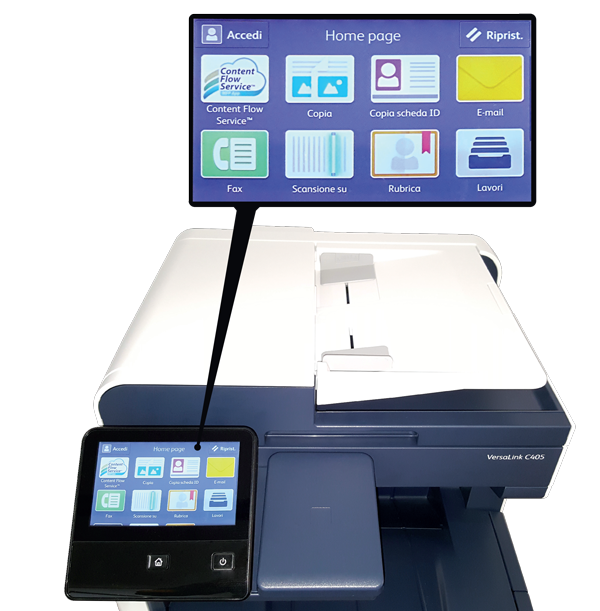 App Stampanti Xerox