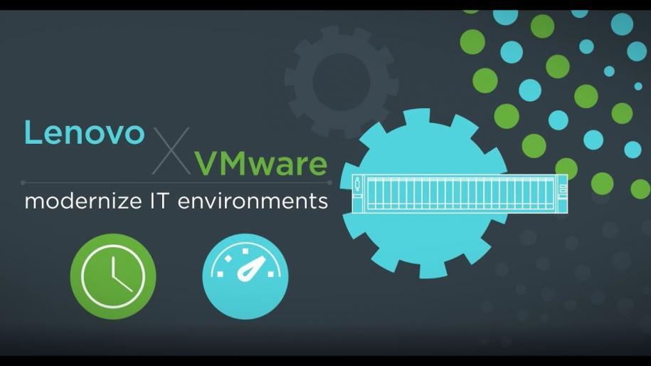 """Lenovo – VMware: iperconvergenza e cloud """"complici"""" della digitalizzazione delle aziende"""