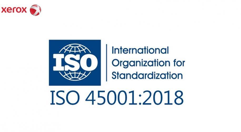 Xerox consegue la certificazione ISO 45001