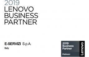 E Servizi diventa Platinum partner Lenovo