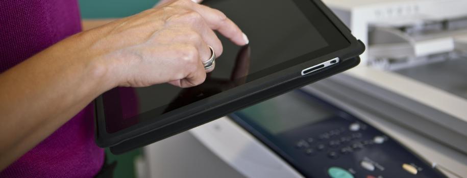 Crea flussi di lavoro personalizzati con Xerox Mobile Link