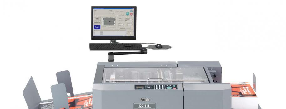 La finitura ideale per la stampa digitale a colori: Duplo DC-616