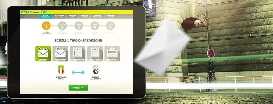 Sull'App PostHello!City il servizio DataCerta